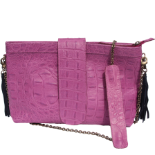sac minima croco rose